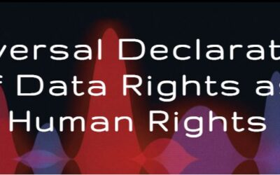 Universal Declaration of Data Rights as Human Rights