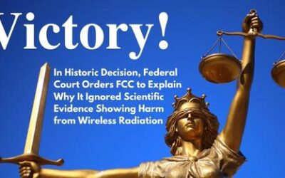 U.S. Appeals Court rules against FCC in favor of wireless safety advocates on radio frequency exposure limits